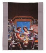 Bill The Galactic Hero Keith Parkinson Fleece Blanket