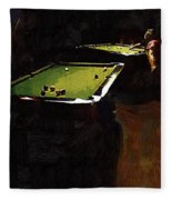 Billiards Ballet Fleece Blanket