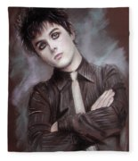 Billie Joe Armstrong Fleece Blanket