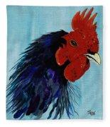 Billy Boy The Rooster Fleece Blanket