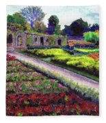 Biltmore Walled Gardens Fleece Blanket