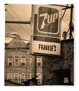 Binghampton New York - Frankie's Tavern Fleece Blanket
