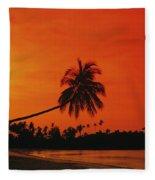 Bintan Island Beach Fleece Blanket