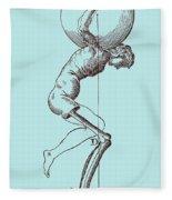 Biomechanics Fleece Blanket