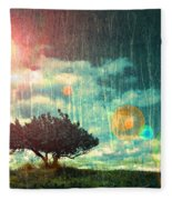 Birch Dreams Fleece Blanket