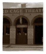 Bird Cage Fleece Blanket