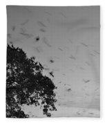 Bird En Route Fleece Blanket