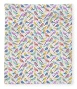 Bird Example Fleece Blanket