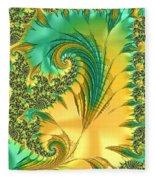 Bird Exotica Fleece Blanket