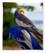 Bird In Paradise Fleece Blanket