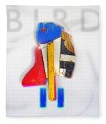 Bird Moderne Fleece Blanket