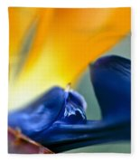 Bird-of-paradise Fleece Blanket