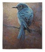 Bird On A Wire Fleece Blanket