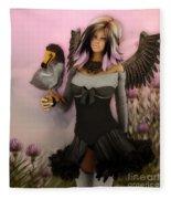 Birdie Fleece Blanket