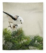 Birdie Stilllife Fleece Blanket
