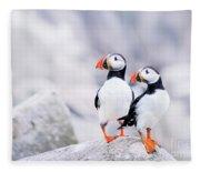 Birdland Fleece Blanket