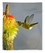 Birds And Bees Fleece Blanket