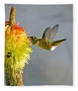 Birds And Bees Fleece Blanket