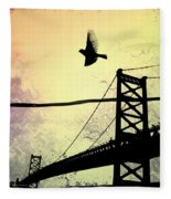 Birds Eye View Fleece Blanket