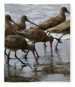 Birds Of A Feather 1 Fleece Blanket