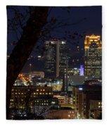 Birmingham Skies Fleece Blanket