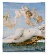 Birth Of Venus Fleece Blanket