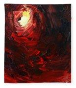 Birth Abstract Art Fleece Blanket
