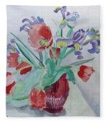 Birthday Bouquet Fleece Blanket