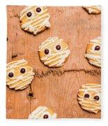 Biscuit Gathering Of Monster Mummies Fleece Blanket