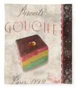 Biscuits Gouche Patisserie Fleece Blanket