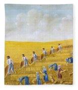 Bishop Hill Colony, 1875 Fleece Blanket