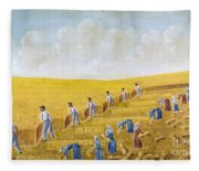 Bishop Hill Colony, 1875 Fleece Blanket