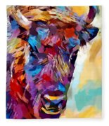 Bison 2 Fleece Blanket