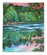 Bisset Park Rapids Fleece Blanket
