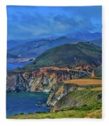 Bixby Bridge 1 Fleece Blanket