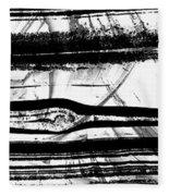 Black And White Art - Layers - Sharon Cummings Fleece Blanket