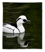 Black And White Duck Fleece Blanket