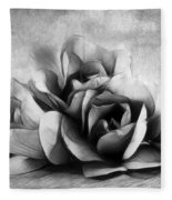 Black And White Is Beautiful Fleece Blanket