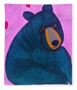 Black Bear Fleece Blanket