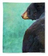Black Bear's Bum Fleece Blanket