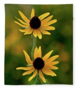 Black Eyed Susans 3276 H_2 Fleece Blanket