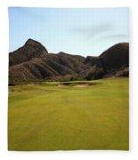 Black Jack's Crossing Golf Course Hole 11 Fleece Blanket