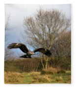 Black Kite Fleece Blanket