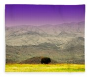 Black Mountains Az Fleece Blanket