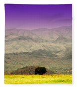 Black Mountains Az Fleece Blanket