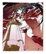 Black Rock Shooter Fleece Blanket