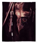 Black Sterling II Fleece Blanket