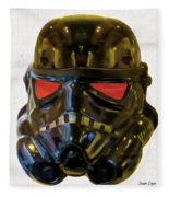 Black Stormtrooper - Pa Fleece Blanket