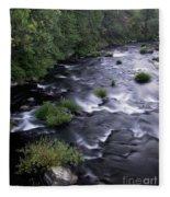 Black Waters Fleece Blanket