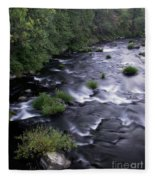 Black Waters Fleece Blanket